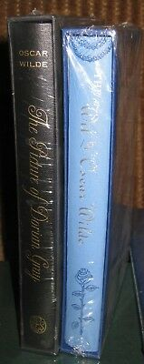 Folio Society The Wit of OSCAR WILDE + The Picture of Dorian Gray  New, sealed