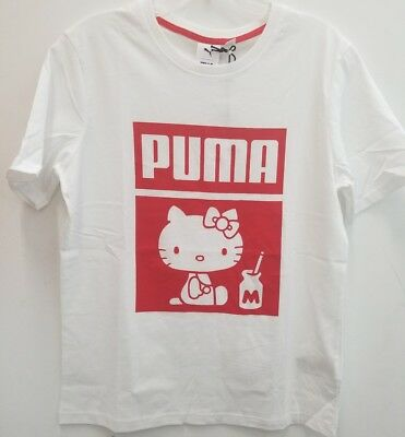 HELLO KITTY PUMA T-Shirt Different sizes available SANRIO 50th Anniversary