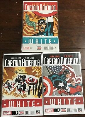 Captain America: White issues 1 2 3  (2015)