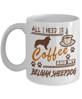 BELGIAN SHEEPDOG DOG,  coffee Mug