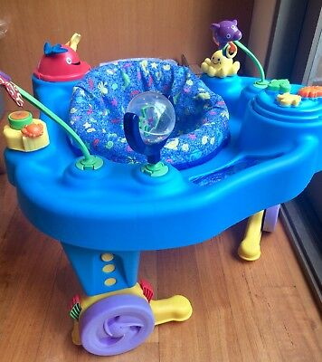 Evenflo ExerSaucer - baby activity centre / gym - great used condition.