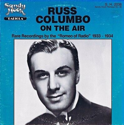 "12"" Lp - Russ Columbo  - … On Air - Incl. Insert! - Us-Press 1980 