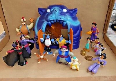 Aladdin Cave and 13 Aladdin Character Figures | Interactive Cave, Trap Doors