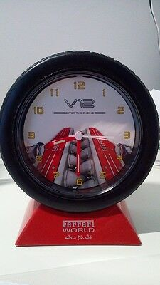 Ferrari sveglia - clock Ferrari world