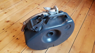 Original Mercedes Reservekanister spare wheel jerry can gas Bellino w123 w124