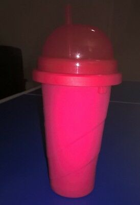 New RED Slushie Maker Icy Drink Tumbler