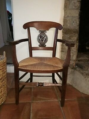 Stunning  French carved Oak Decorative Carver chair / Armchair solid