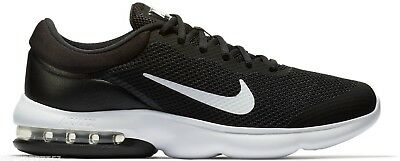 NIKE AIR MAX ADVANTAGE SCARPA LIFESTYLE SNEAKER UOMO NERO BLACK / BIANCO WHITE
