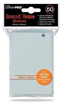 Ultra Pro - Special Size Board Game Sleeves x 50 - 65 x 100mm