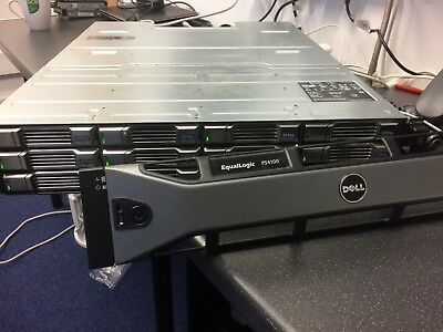 Dell EqualLogic PS4100 with Drives