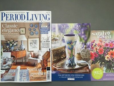 Period Living Magazine April 4/2018 Classic Elegance spring Greens Current Issue