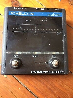 TC Helicon Harmony Control Guitar Foot Switch