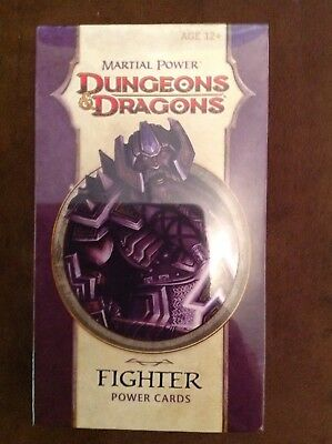 Dungeons & Dragons Power Cards - Martial Power - FIGHTER D&D