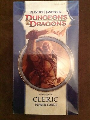 Dungeons & Dragons Power Cards - Player´s Handbook - CLERIC D&D