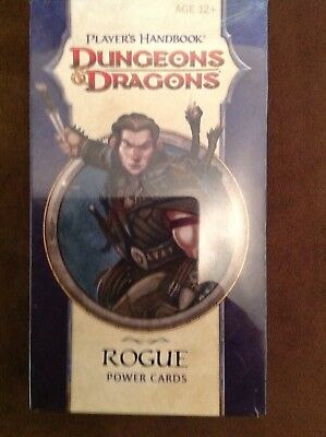 Dungeons & Dragons Power Cards - Player´s Handbook - ROGUE D&D