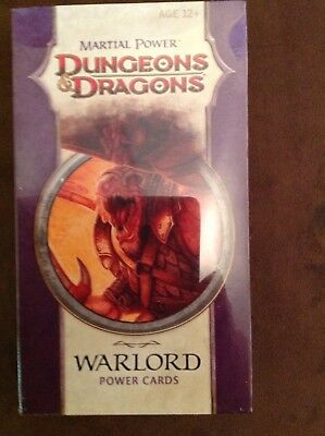 Dungeons & Dragons Power Cards - Martial Power - WARLORD D&D