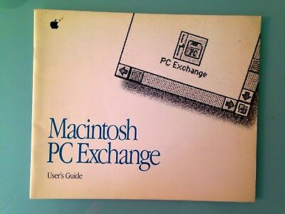 Vintage Apple Macintosh PC Exchange User's Guide