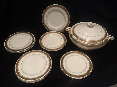 Crown Ducal - 1920's - Plates & Tureen