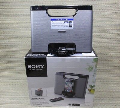 Sony RDP-M7iP Audio Speaker Docking System For IPod Iphone  NEW No Remote