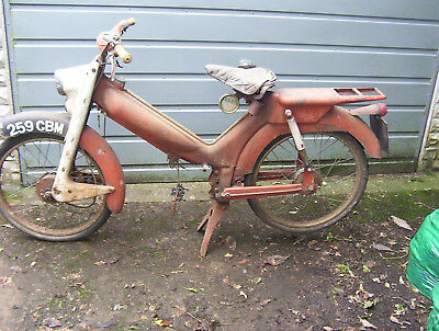 norman nippy moped