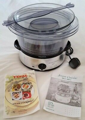 Unused Tefal Steam Steamer Cuisine Excellent Condition Model Series S03 VC400716