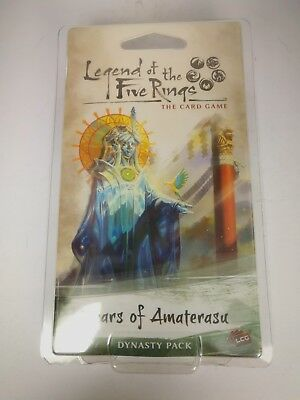 Legend of the Five Rings: Tears of Amaterasu - Expensionpack 60 cards - OVP