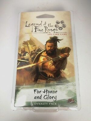 Legend of the Five Rings: For Honor and Glory - Expensionpack 60 cards - OVP