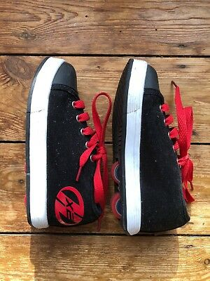 Heelys - Black And Red - Uk Size 13 Great Condition - Only Used A Few Times