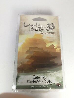Legend of the Five Rings: Into the Forbidden City - Expension 60 cards - OVP