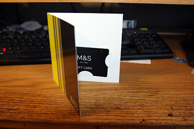 Marks And Spencer £400 gift card voucher M+S