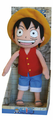 One Piece - Luffy 30cm Plush Stuffed Figure New Original Package