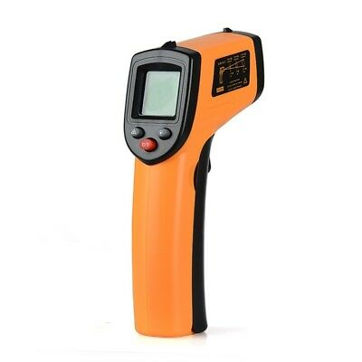 Infrared Thermometer Temperature Heat Gun Digital LCD Laser Measuring Temp Tool