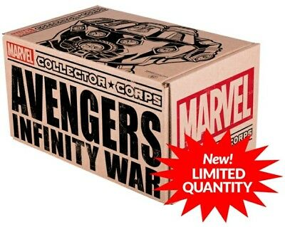 Avengers Infinity War Marvel Collector Corps Exclusive Funko Box Brand New