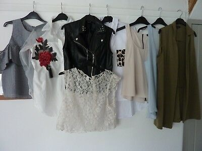 Ladies Clothes Tops size 12 to 14 River Island Top Shop H&M, Primark, New Look