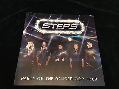 Steps Party On The Dance floor Tour Programme