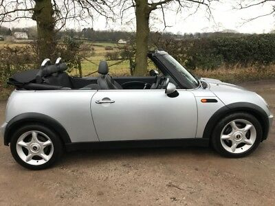 2004 54 Plate Mini Cooper 1.6 Convertible. Loads Of History Sold With No Reserve