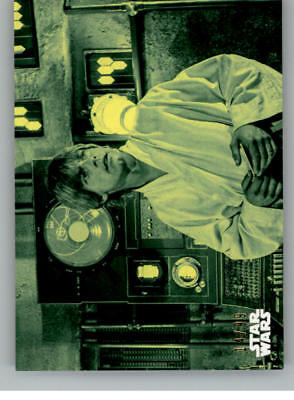2018 Topps Star Wars A New Hope Black and White Green Cards Pick From List /99