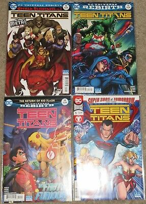 Teen Titans - Issues 12, 13, 14 & 15