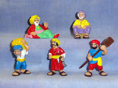 Sindbad Bully 1979 Figuren Figurensammlung Comicfiguren Set Lot Sammelfiguren