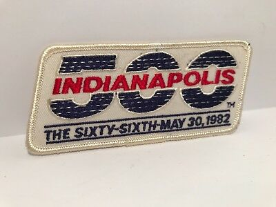 Indianapolis 500 Collectors Patch - 1982 Race