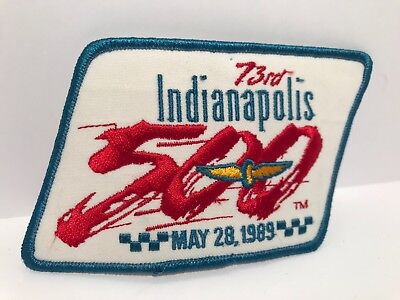Indianapolis 500 Collectors Patch - 1989 Race