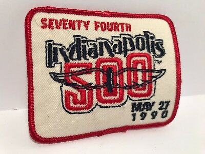 Indianapolis 500 Collectors Patch - 1990 Race