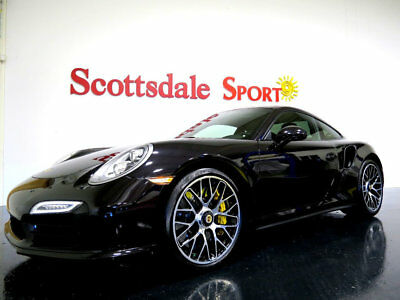 2014 Porsche 911 * ONLY 12K Miles...BLACK!! 14 911 TURBO S CPE * 12K Mi, RS WHLS, PANO ROOF, CARBON FBR, PREM PLUS, LOADED!