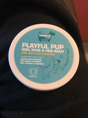 Hownd Playful Pup Natural Dog Skin Nose and Paw Balm 50g