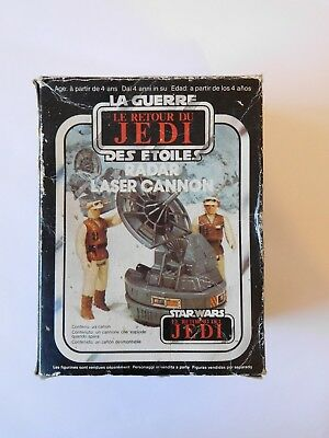 Star Wars Vintage Radar Laser Cannon MIB mit Box (Return of the Jedi / ESB)
