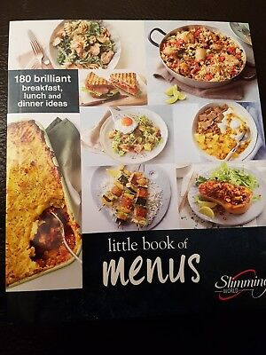 Slimming World Little Book Of Menus New For 2018 Free Postage