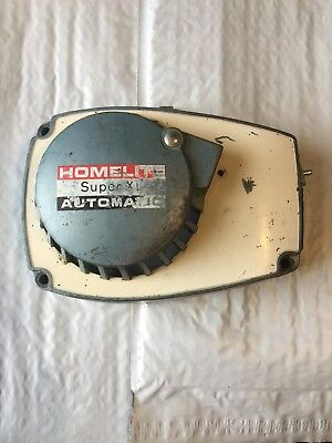 Homelite Super XL  Chainsaw Recoil Pull Starter - XL Automatic - OEM Assembly. B