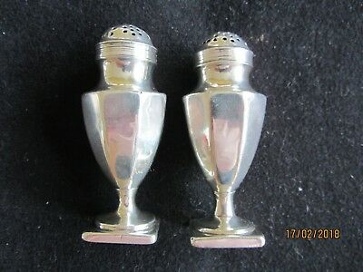 Solid Silver Pepperettes Pair of - George III  London 1791