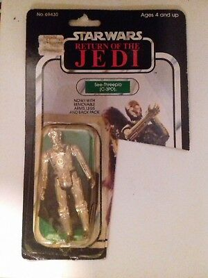 Star Wars Vintage C3PO Removable Limbs mit OVP (Return of the Jedi)