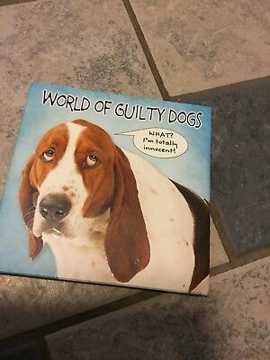 Basset Hound & Bulldogs,Terriers Etc World Of Guilty Dogs Book New Great Gift